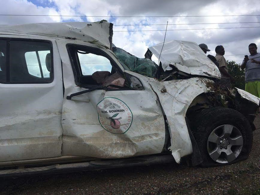Breaking: Road traffic accident in Southern Belize