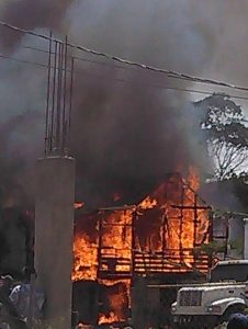 Mid-afternoon fire guts two buildings in Santa Elena, Cayo