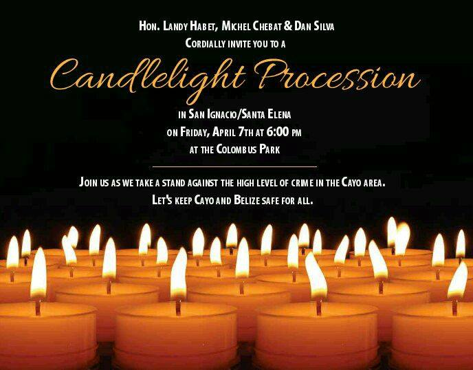 By BBN Staff A candlelight vigil will be held on Friday April 6 2017 in San Ignacio Town. & Candlelight vigil to be held in San Ignacio on Friday azcodes.com