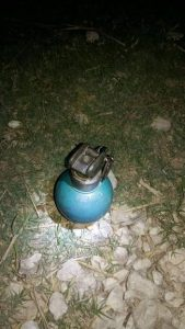 Police reportedly find grenade on Southside