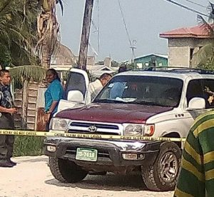 Breaking: Taxi man shot and killed in Belize City today