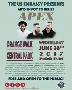Orange Walk residents invited to free concert tonight
