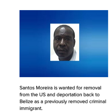 Belizean Makes US Most Wanted List