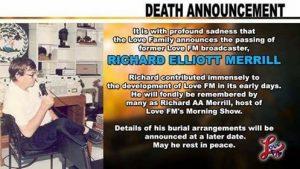 Belize~ Tribute to Richard Merrill