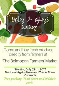 Belmopan opens new weekend farmers' market