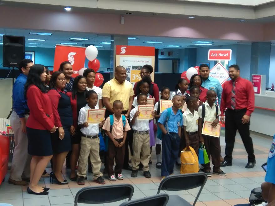 Scotiabank gives primary school scholarships