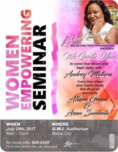 Women empowerment seminar to be held this weekend