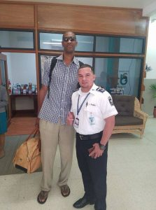 Retired NBA Star is in Belize