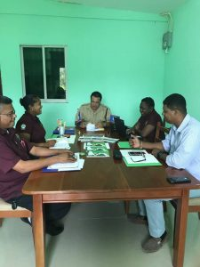 Belmopan police and traffic officials meet to discuss traffic management