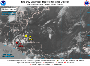 Heavy rainfall expected in Belize