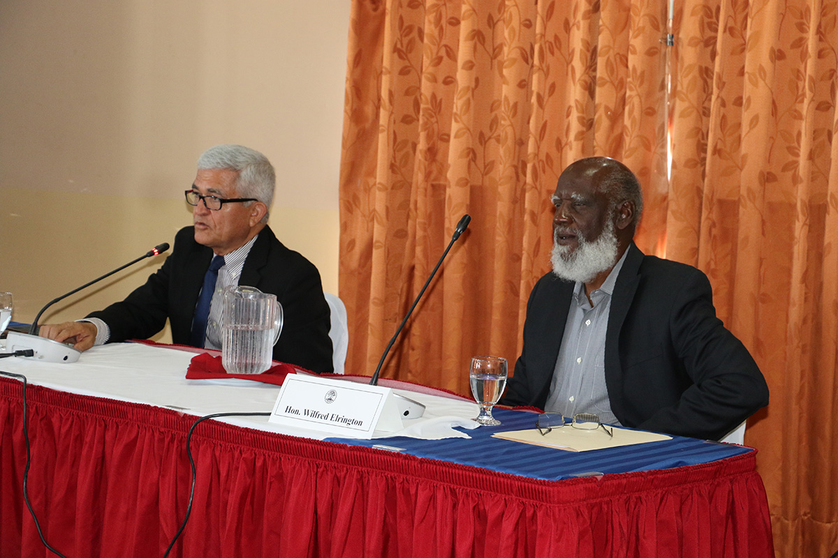 """Belize and the EU hold third """"Article 8"""" political dialogue session"""
