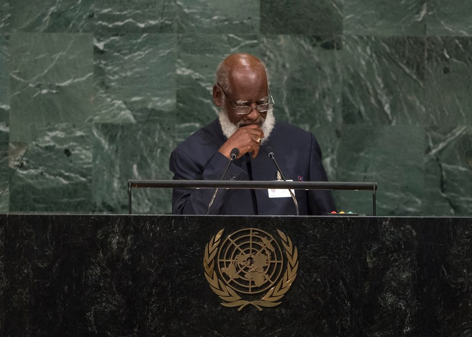 Sedi calls out United Nations on injustice