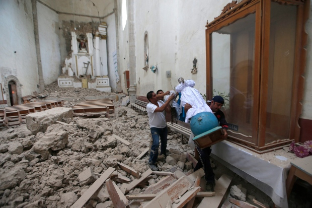 Mexico quake toll climbs to 292