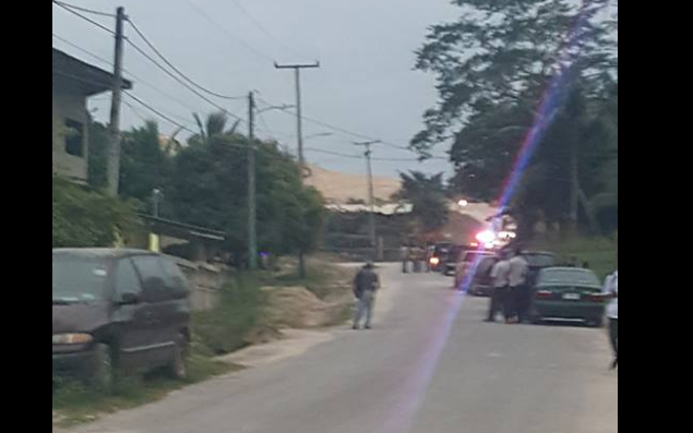 Dynamite explodes in Santa Elena, Cayo; Police at the scene