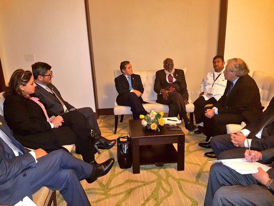Belize and Guatemala hold bilateral meeting in Panama