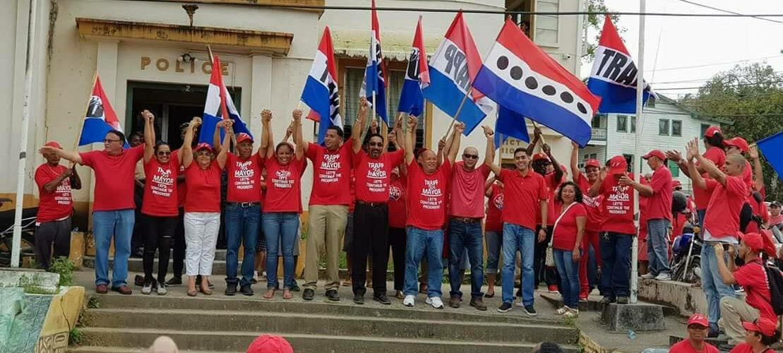 UDP's in San Ignacio and Santa Elena celebrate victory
