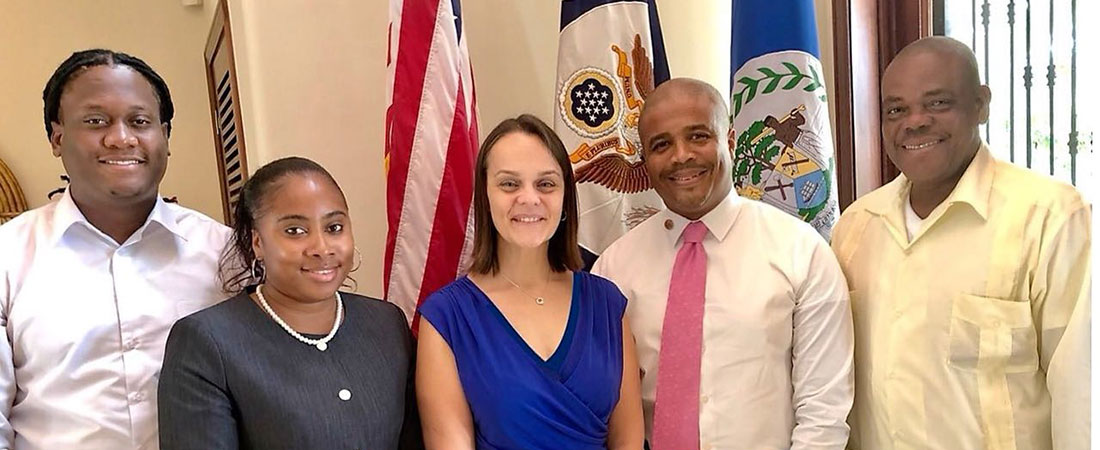 US Embassy meet with new Belize City Council team