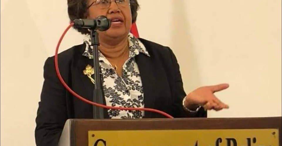 Dr. Carla Barnett withdraws from politics