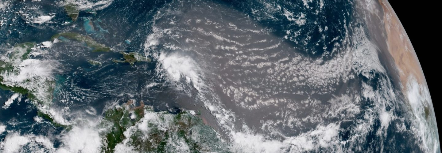Cold front affecting Belize today