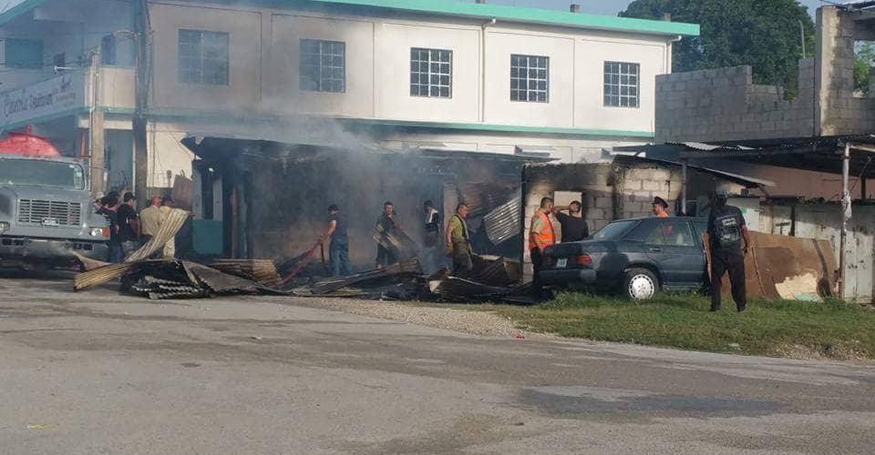 Police issue official report on fatal fire in Orange Walk