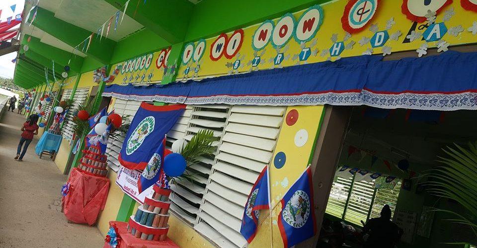 Santa Elena Primary School hosts patriotic competition