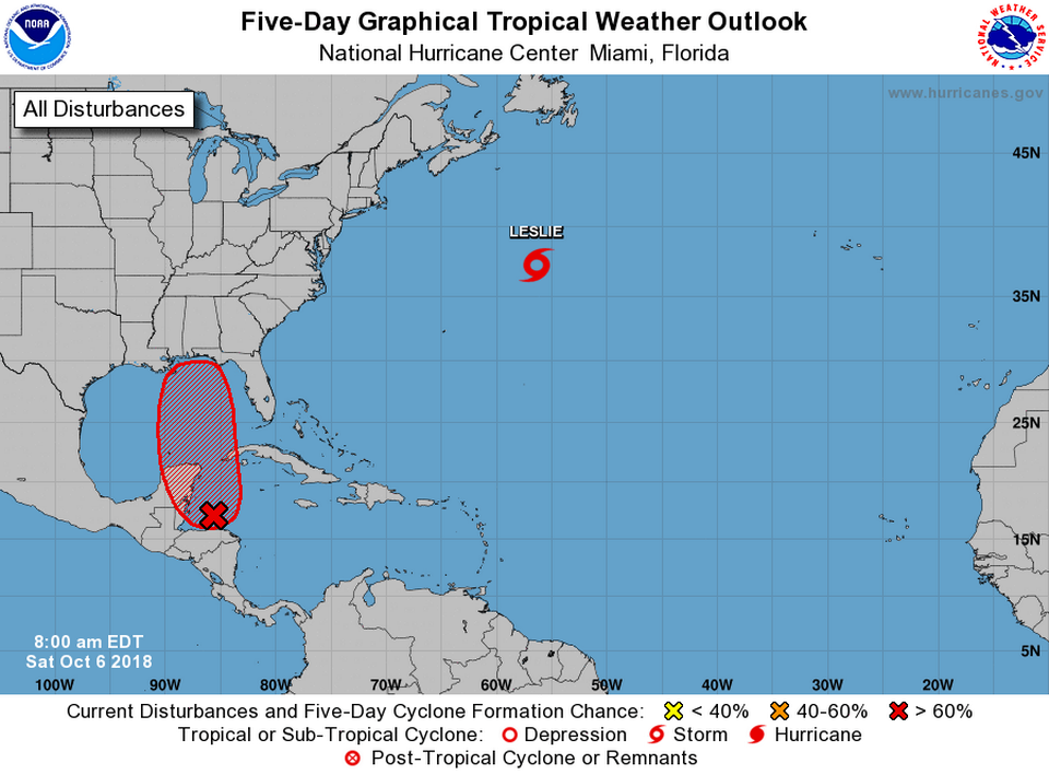Tropical wave could affect western Caribbean
