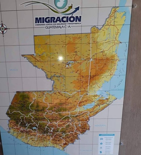"""Former Minister of Foreign Affairs of Guatemala: """"We will use maps on"""