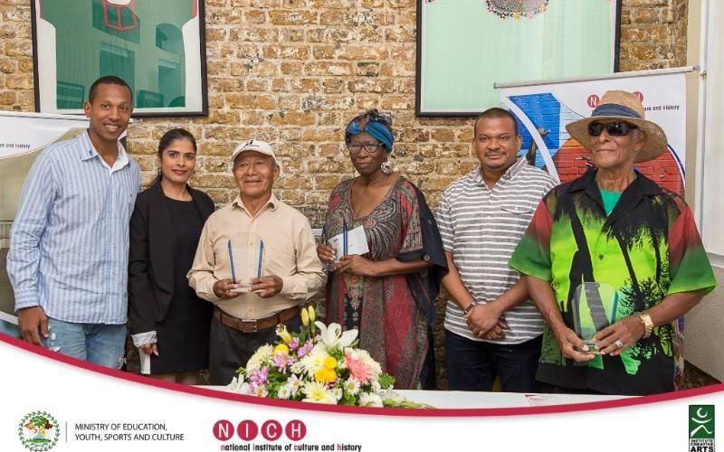 Three outstanding Belizean artists receive Artist Emeritus Award