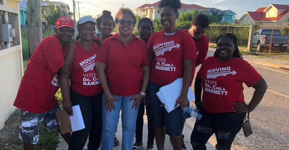 Carla Barnett calls for 'new politics' in Belize