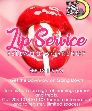 Get the blow by blow with BFLA for Valentine's Day