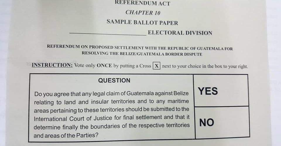 New Referendum date set