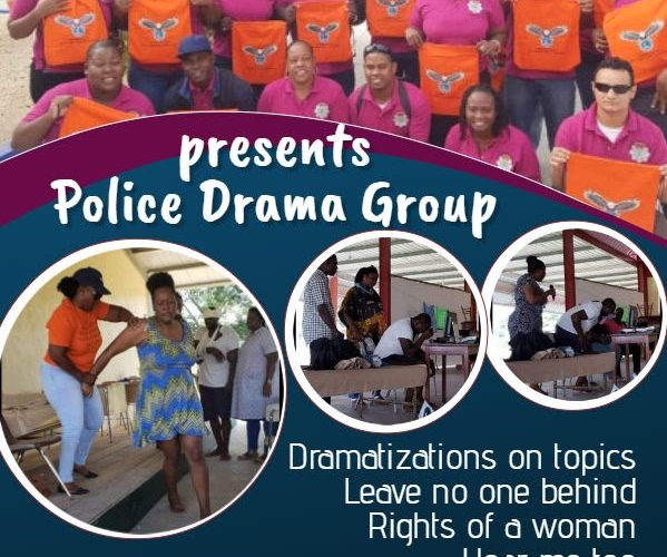 """Police Department Drama Group showcases """"Entertainment Series"""" at Orange Walk's Banquitas House of Culture"""