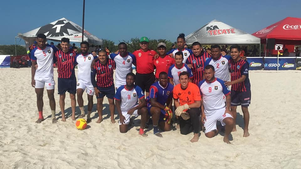 Belize wins Yucatan Beach Soccer Cup