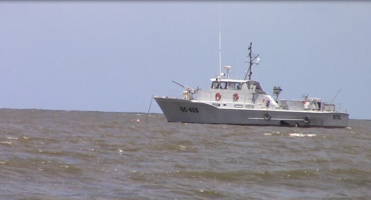 Sarstoon blocked by Guatemalan gun boats