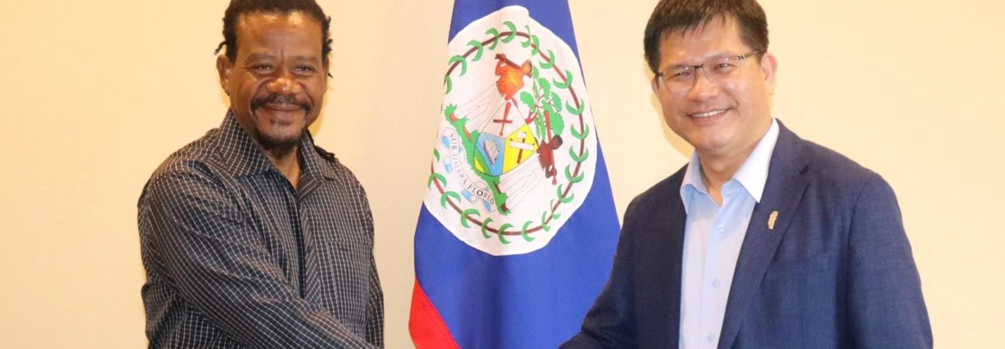 Taiwan's Transport Minister visits Belize