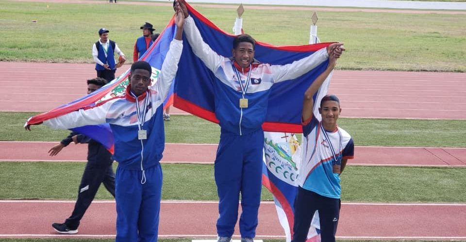 The results are in! Belize U15 team bringing home 5 medals for CODICADER Track and Field