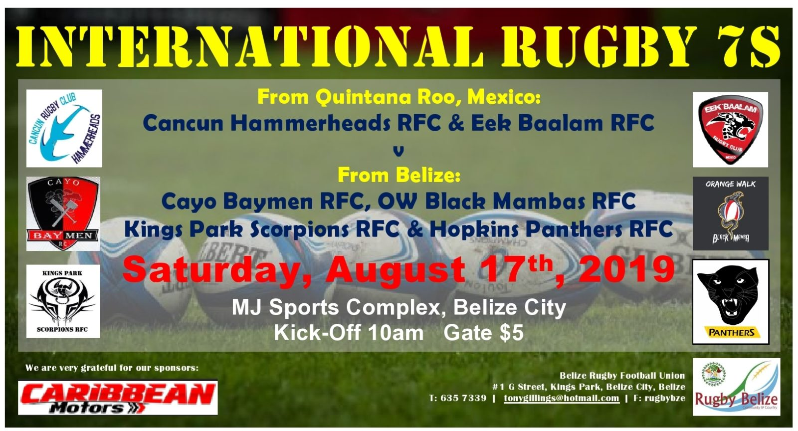 Belize's rugby league continues to make history