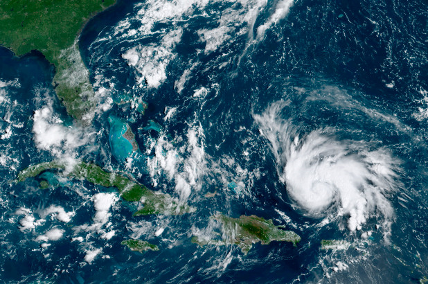 Dorian rapidly intensifies Friday and likely becomes a 'major' hurricane