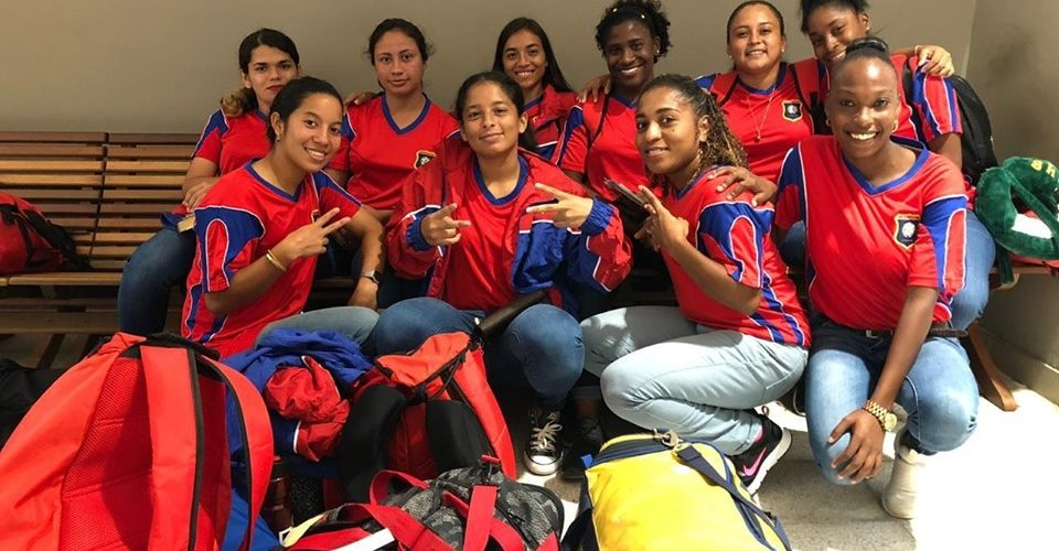 Belize Lady Jaguars play in triangular tournament