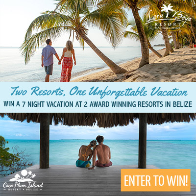 Belize vacation contest