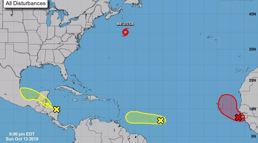 NEMO issues advisory 2 on system in the Caribbean