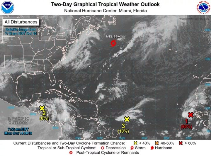 Tropical moisture to cause weekend wetness for Big Bend, Gulf regions