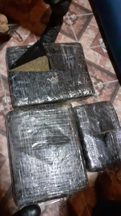 2 Belmopan residents busted with over 50 lbs of marijuana