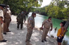 Items for contrabandists located by boat patrol