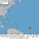 A tropical depression has formed over the Central Tropic Atlantic.