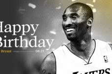 Kobe Bryant birthday. Photo credit: Los Angeles Lakers