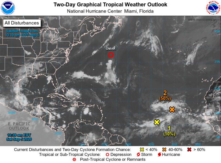 National Hurricane Center monitoring three tropical systems in Atlantic and Caribbean