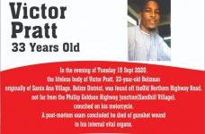 Police offer reward in Victor Pratt murder investigation