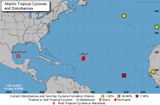 Hurricane Teddy moves across Atlantic as powerful Category 4
