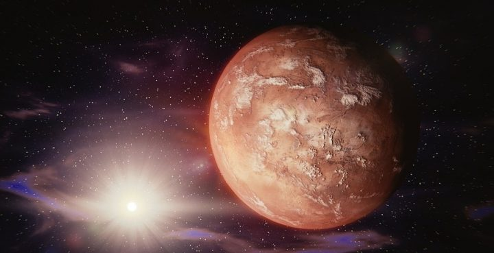 Look up! Mars will shine particularly bright in the sky TONIGHT